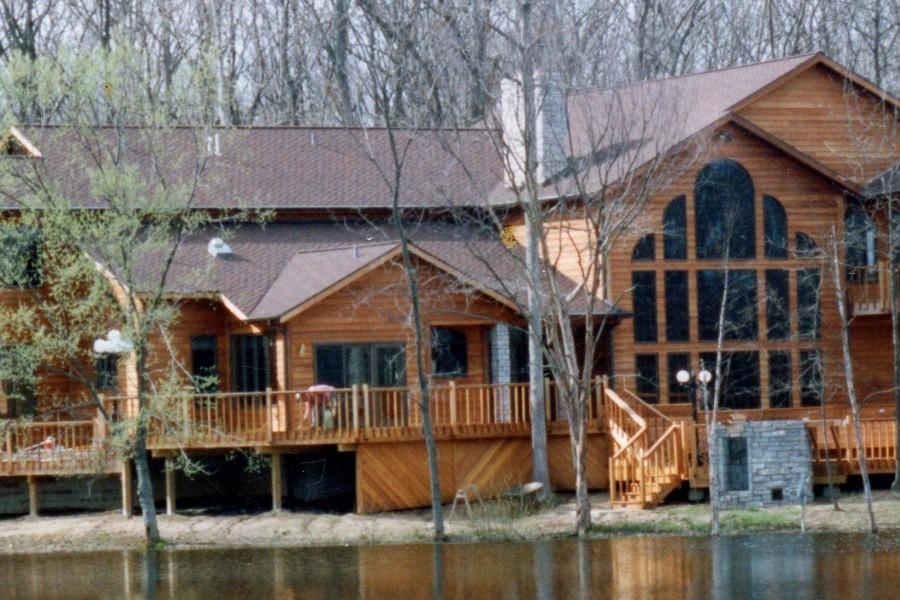 Custom home designed and built